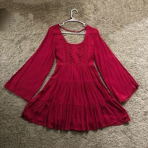 Altar'd State Red Dress